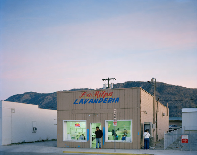 , 'Main Street laundromat, Methow Valley, Washington,' 2012, Aperture Foundation
