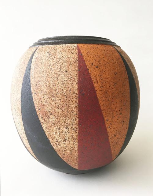 Kat Hutter, 'Painted Vessel, Black Glaze (1)', 2019, Eutectic Gallery
