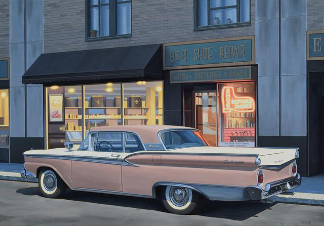 Danny Heller, 'B&B Shoe Repair', 2019, Painting, Oil on canvas, George Billis Gallery