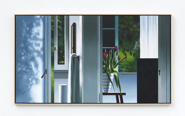 , 'Interior with Two Rooms,' 2019, Leslie Sacks Gallery