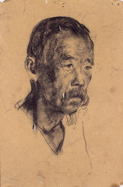 , 'Face of a Man,' 1943, Hakgojae Gallery