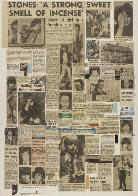 Richard Hamilton, 'Swingeing London 67 (Lullin 69)', 1968, Print, Photo-offset lithographs printed in colours, Forum Auctions