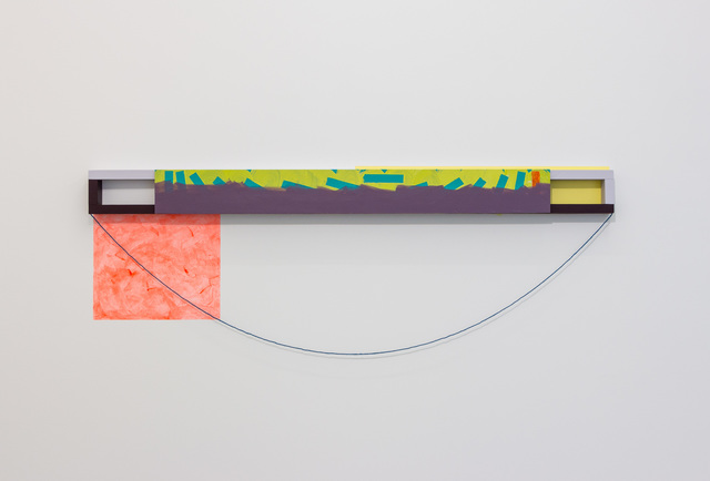 , 'Painted Angles (Gravitation),' 2017, BERG Contemporary
