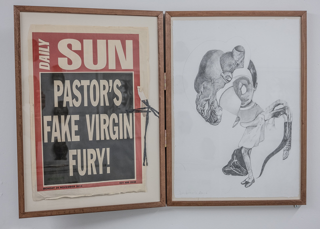 , 'Pastors's Fake Virgin Fury!,' 2016, heliumcowboy