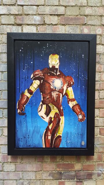 , 'Comic on Iron Man,' 2017, Reem Gallery