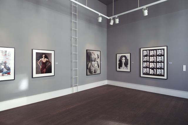 Victor Demarchelier, 'Self-Portrait (Study #2)', 2008, Photography, Selenium Toned Gelatin Silver Print, CAMERA WORK