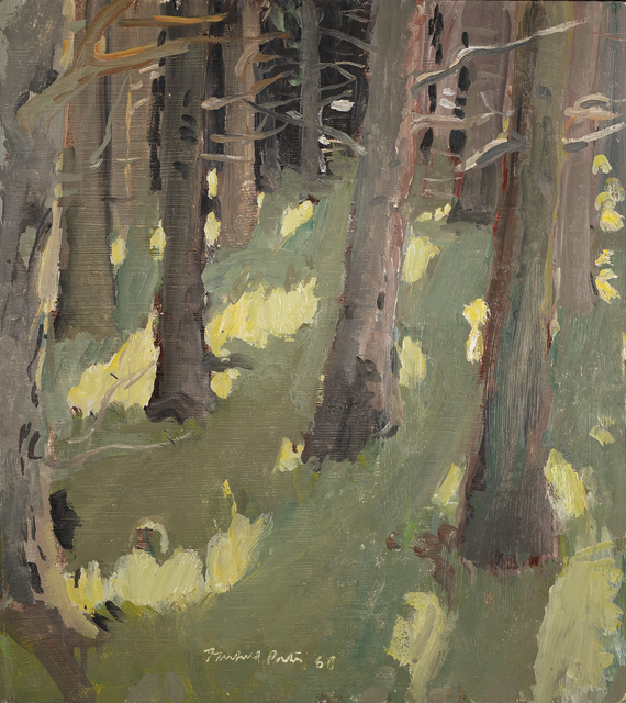 Fairfield Porter, 'Woods', 1968, Questroyal Fine Art