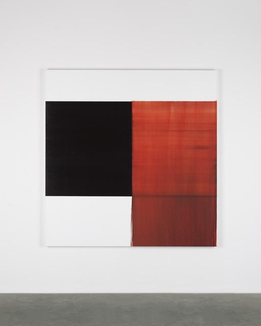 Callum Innes, 'Exposed Painting Crimson Lake', 2018, Painting, Oil on linen, Sean Kelly Gallery