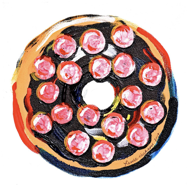 Leslie Hackard, 'Single Doughnut #1', Tim Collom Gallery