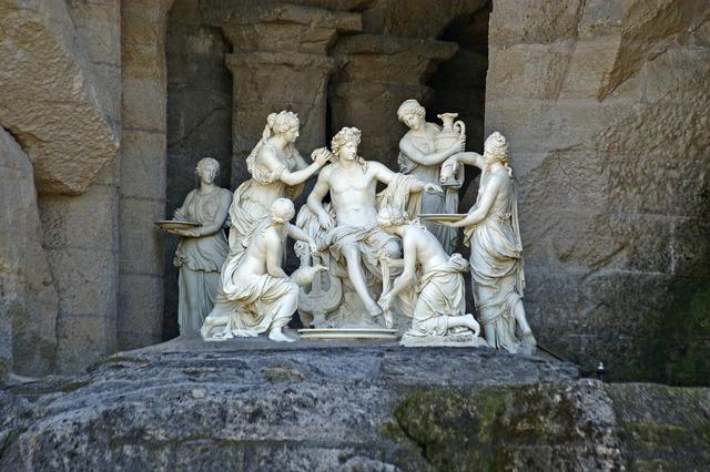 François Girardon   Apollo Attended by the Nymphs of Thetis