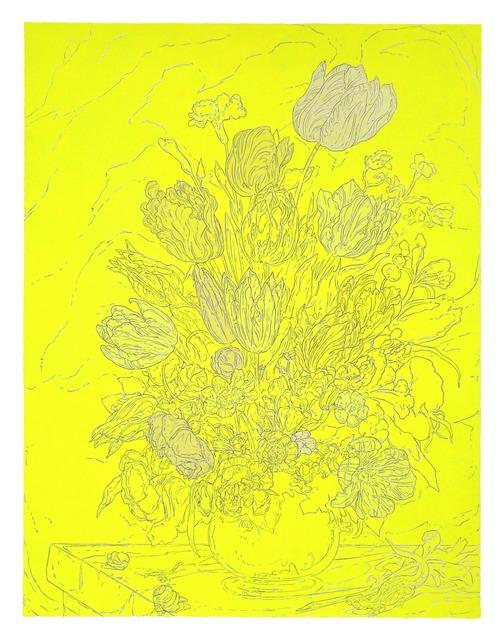 Samuel Stabler, 'Untitled (Neon Floral Still Life),' 2013, Garis & Hahn