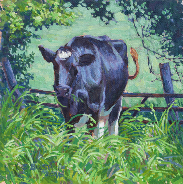 , 'Cow Study 4,' , West Branch Gallery