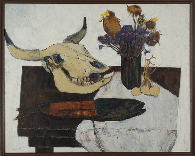 , 'Zugaikotsu no aru seibutsu,' 1955, Kashima-Arts