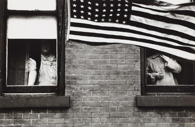 Robert Frank, 'Parade, Hoboken, New Jersey', 1955, Phillips