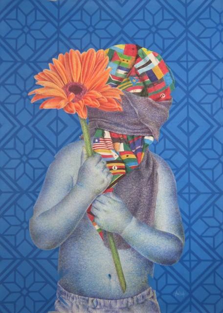 , 'Child and orange flower,' 2018, Galerie Polysémie
