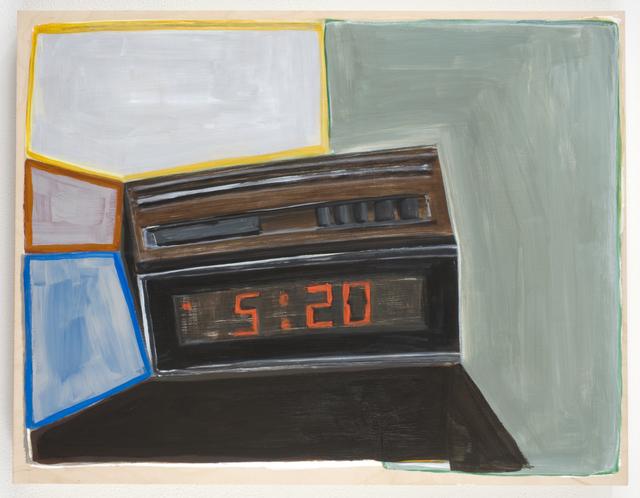 Pam Lins, '5:20 in space', 2010, Rachel Uffner Gallery