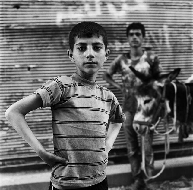 , 'Khalid and his Donkey in Old Aleppo, May 2017,' 2017, Flatland Gallery