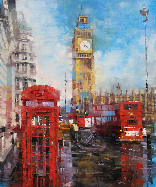 , 'London Red,' 2019, Rehs Contemporary Galleries