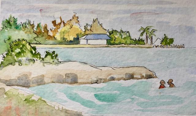 , 'Sombrero Beach, Marathon, Florida Keys  ,' 2017, Flow 305