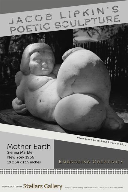 Jacob Lipkin, 'Mother Earth 1966 Art Poster', 2020, Stellars Gallery