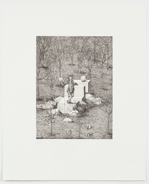 , 'Man with Bottles,' 2017, Alan Cristea Gallery