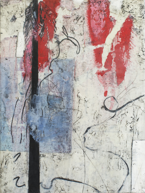 , 'Blue and Red,' 2016, Seager Gray Gallery