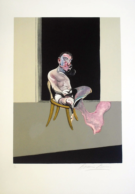 Francis Bacon, 'Triptych August 1972 (Right Panel)', 1972, Gormleys Fine Art