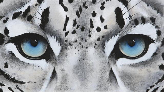 , '1. Snow Leopard Eyes,' 2018, Sladmore Contemporary