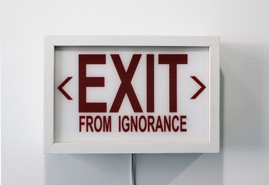 EXIT from IGNORANCE
