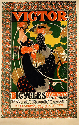 , 'VICTOR BICYCLES OVERMAN WHEEL COMPANY,' 1896, Omnibus Gallery
