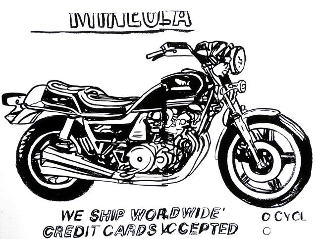 , 'Mineola Motorcycle,' 1986, Joseph K. Levene Fine Art, Ltd.