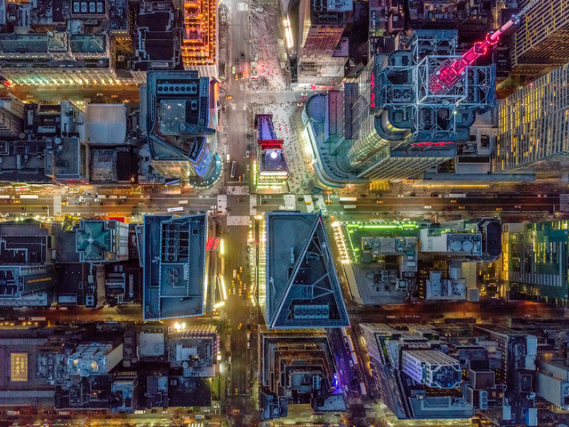 , 'NYC Times Square - NY Aerials,' 2018, ARTITLEDcontemporary