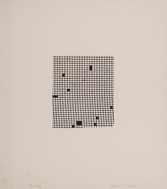 Johanna Calle, 'Sin titulo (restas en tinta)/Untitled (ink restas)', 2017, Ruiz-Healy Art