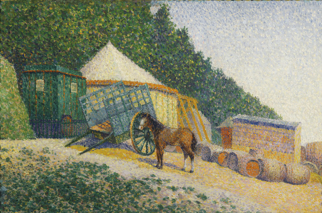 Albert Dubois-Pillet, 'Little Circus Camp', date unknown, Phillips Collection