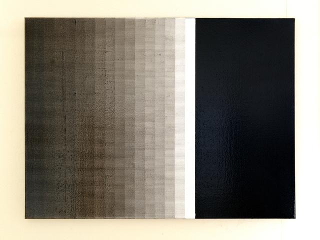 , '18调 - 黑 18 shades - black ,' 2018, Tong Gallery+Projects