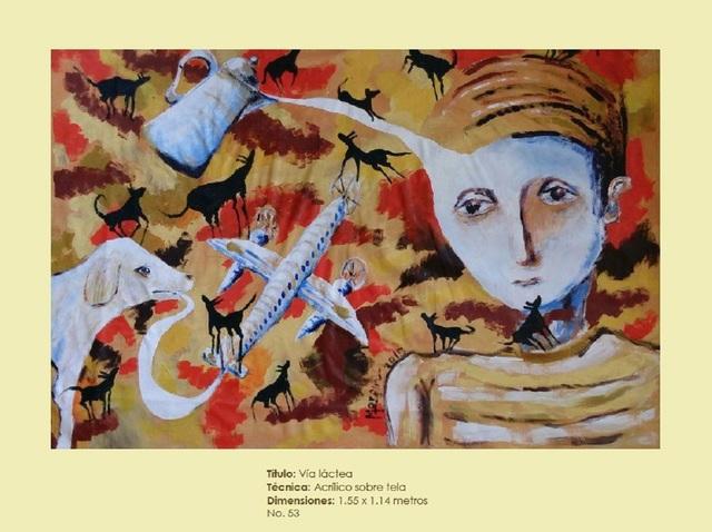 , 'Via lactea,' 2015, Galleria d'Arte Martinelli