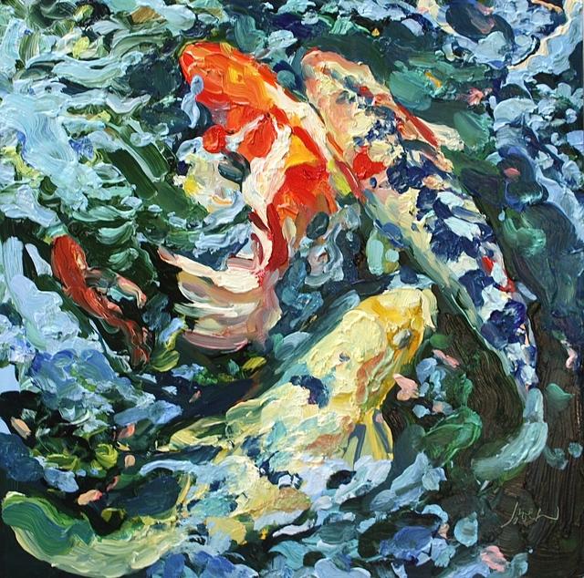 , 'Three and One Half Koi 2,' , Beth Urdang Gallery