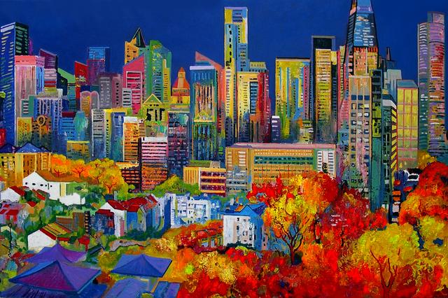 , 'Chinatown,' 2014, Barnadas Huang