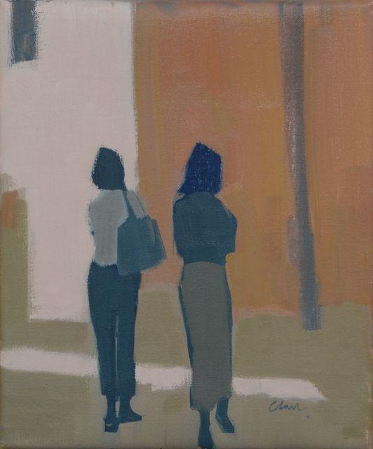 Michael Clark PAI RSW, 'Italians', 2019, Lime Tree Gallery
