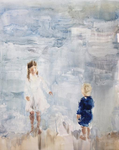 , 'Velvet (linen + velvet),' 2018, Bau-Xi Gallery