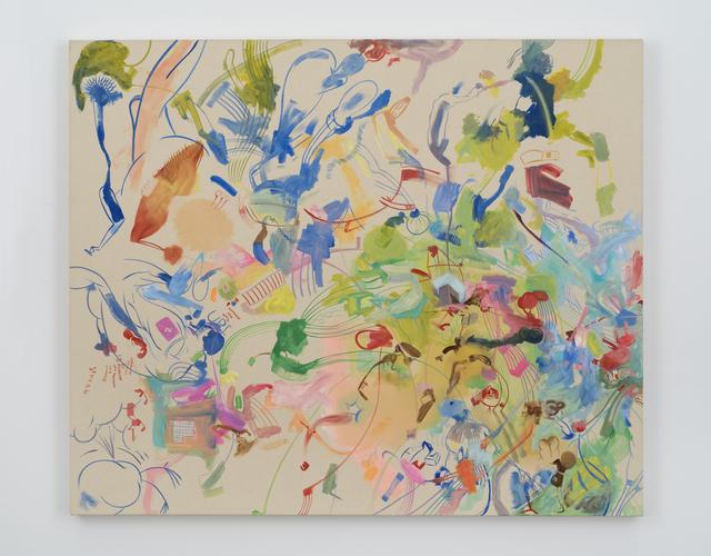 , 'Busy blue,' 2016, Galerie Eva Presenhuber