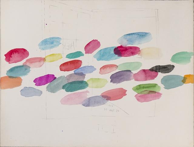 , 'BONJOUR HIER, 15 JUIN 78,' 1978, Arario Gallery