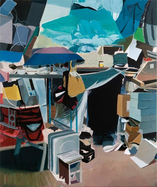 , 'Tent,' 2017, Galerie Kornfeld