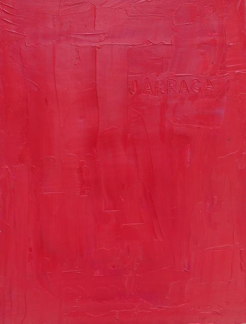 , 'J. Arraga. De la serie A. Armitano,' 2013, Galeria Leme