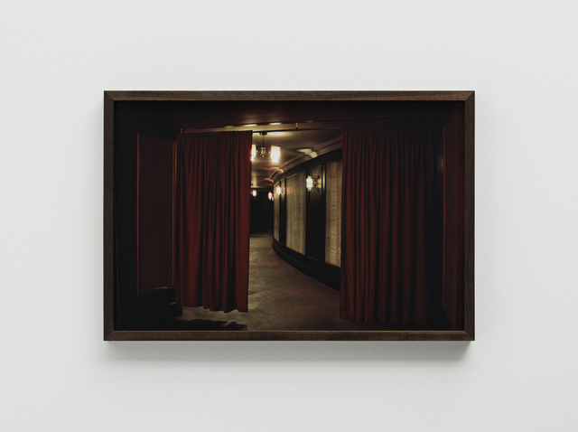 , 'Red Curtains, the Orpheum, Madison, WI,' 2010-2015, Pilar Corrias Gallery
