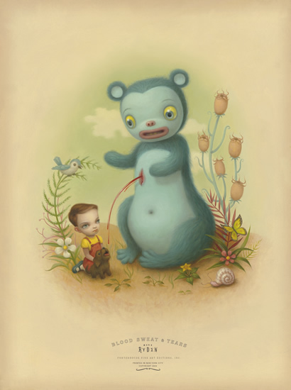 Mark Ryden, 'Blood', ca. 2004, Print, Giclee on Archival Cotton Rag Paper with Deckled Edges, Dorothy Circus Gallery