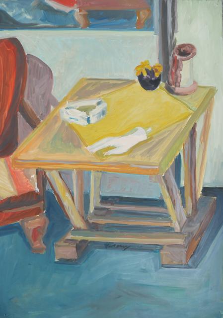 , 'O. T. (Gelber Tisch),' 1964, Galerie Ostendorff