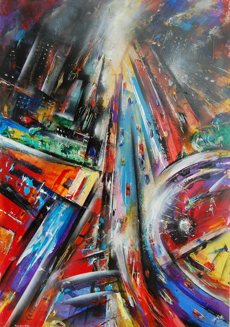 , 'Rush hour,' 2009, Robert Eagle Fine Art