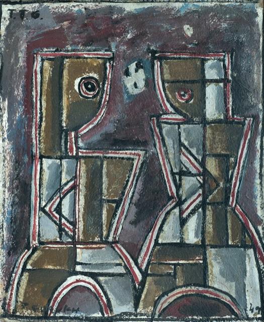 , 'Figuras Constructivas,' 1949, Galería de las Misiones