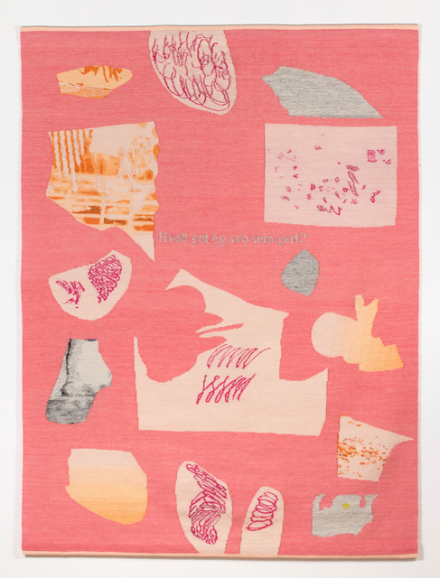 , 'Pink Collage (What Can I Do Anyway),' 2017, Asya Geisberg Gallery